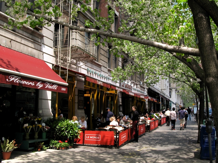 Quiet Cafes In Upper West Side