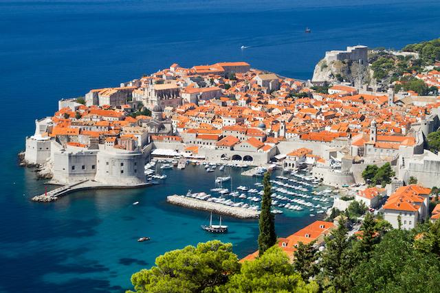 クロアチア ドブロニクの風景画像