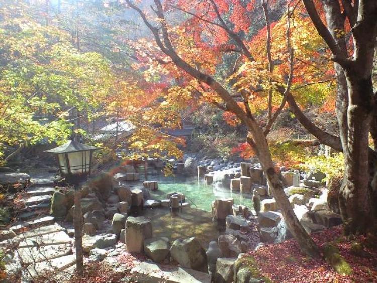 【静岡】良い湯、良い景色に浸る県内各地の紅葉露天の宿10選